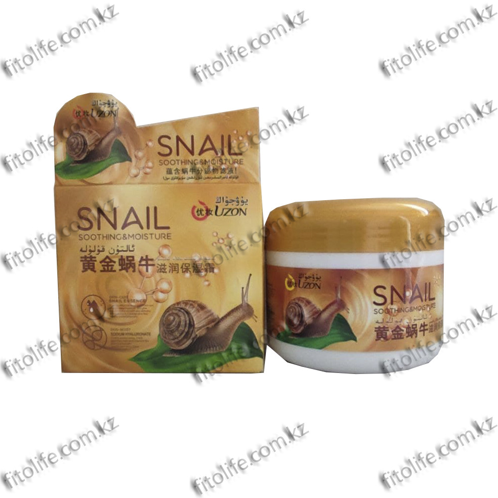 Сглаживающий и увлажняющий Snail крем на основе улитки