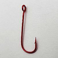 Одинарный крючок FANATIK S-57 MIKRO JIG № 10 RED, фото 2