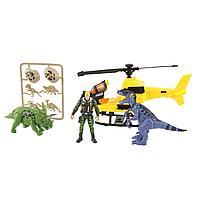 Игровой набор: Охотник за динозаврами, с вертолетом
