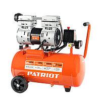 PATRIOT Компрессор Patriot поршневой безмасляный WO 24-160, 160 л/мин, 8 бар, 1100 Вт, 24 л, быстросъемный
