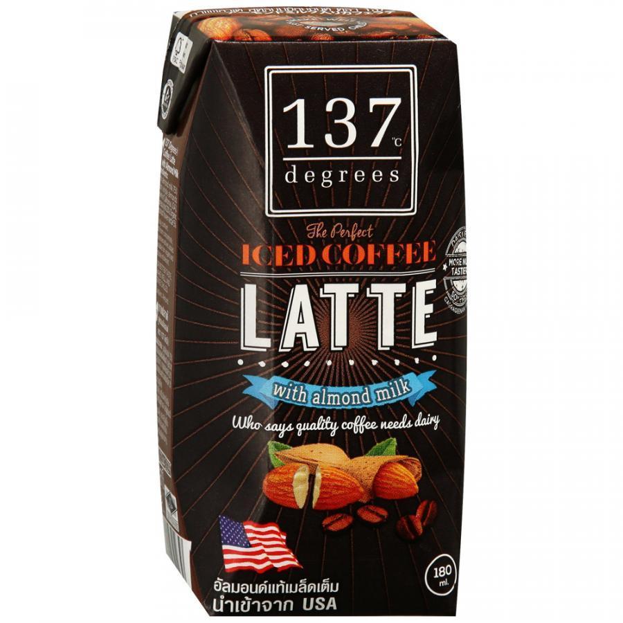 Напиток 137 Degrees Кофе Латте на миндальном молоке 180 мл