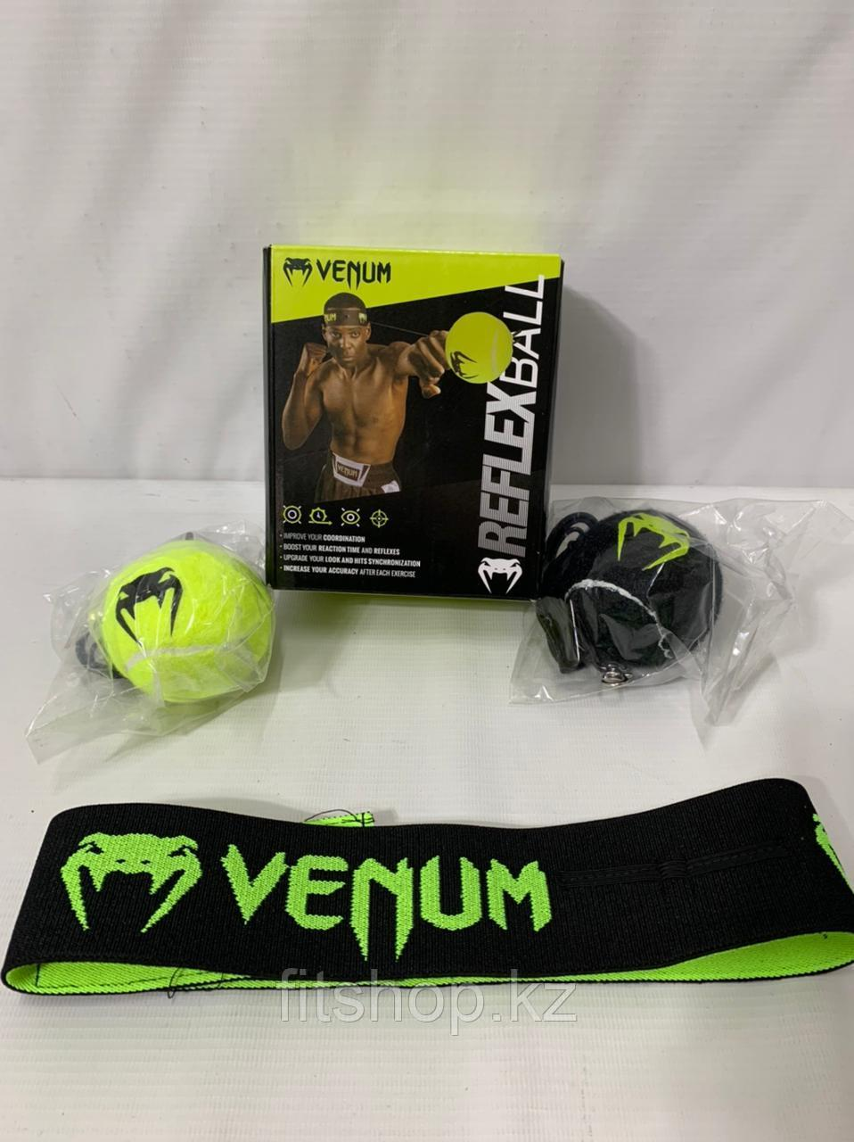 Тренажер мяч для развития реакции VENUM REFLEX BALL