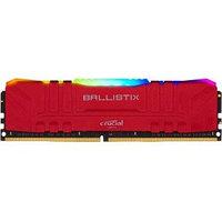 Оперативная память 16GB DDR4 3000MHz Crucial Ballistix Red RGB PC4-24000 1.35V BL16G30C15U4RL