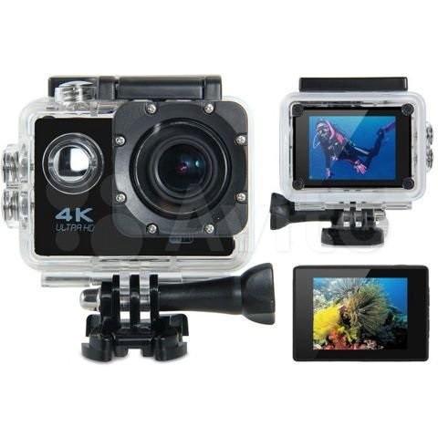 Экшн камера 4K Ultra HD
