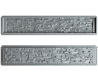 Форма для бетонного забора №46 «Скалистая гора №2»