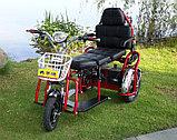 Электротрицикл, складной, мотор 48v 500w, аккум. Li-ion 48v 25A/H. Дальность 55-75 км. Вес 40 кг. Колеса 14''., фото 4