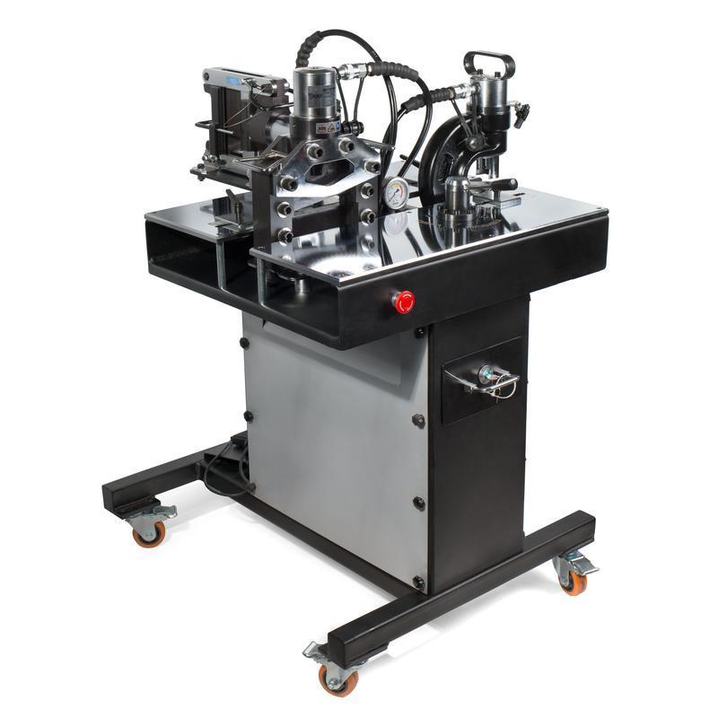 Универсальный стол с комплектом шинообрабатывающего оборудования