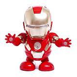 Робот «Танцующий Герой», световые и звуковые эффекты, работает от батареек, фото 2