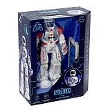 Робот радиоуправляемый «Смарт бот», ходит, световые и звуковые эффекты, русская озвучка, цвет синий, фото 6