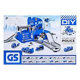 Парковка «Полиция», с металлическими машинками, фото 2