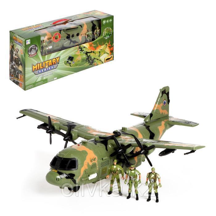 Самолет «Армия» с солдатами, световые и звуковые эффекты