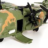 Самолет «Армия» с солдатами, световые и звуковые эффекты, фото 5