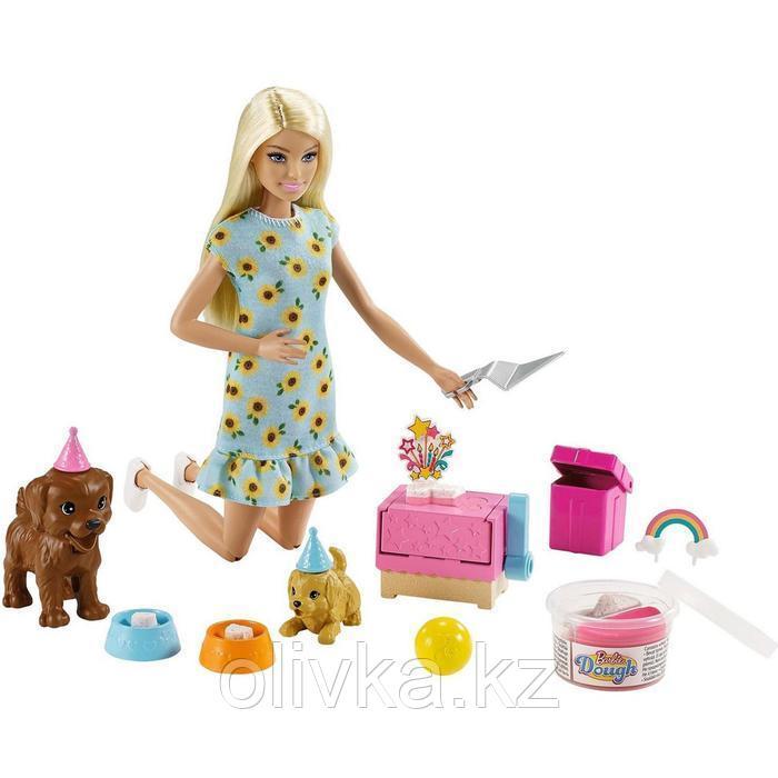 Игровой набор «Барби и щенки» кукла Барби с питомцами и аксессуарами для щенков