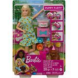 Игровой набор «Барби и щенки» кукла Барби с питомцами и аксессуарами для щенков, фото 2