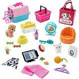 Игровой набор «Зоомагазин магазин для животных» с куклой Барби, питомцем и аксессуарами, фото 3