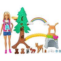 Кукла «Барби Исследователь дикой природы», с животными и тематическими аксессуарами