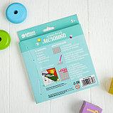 Алмазная мозаика для детей «Тачка», 15 х 15 см + емкость, стерж, клеев подушечка. Набор для творчества, фото 6