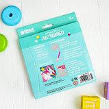 Алмазная мозаика для детей «Пони» + ёмкость, стержень, клеевая подушечка, фото 5