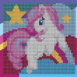 Алмазная мозаика для детей «Пони» + ёмкость, стержень, клеевая подушечка, фото 6