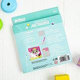 Алмазная мозаика для детей «Кошечка», 15 х 15 см + емкость, стерж, клеев подушечка. Набор для творчества, фото 5