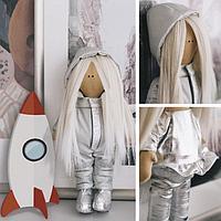 Интерьерная кукла «Космонавт Дакота», набор для шитья 15,6 × 22.4 × 5.2 см