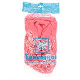 Гребенная лента 100% шерсть аргентинский меринос 50гр (0160, розовый), фото 3