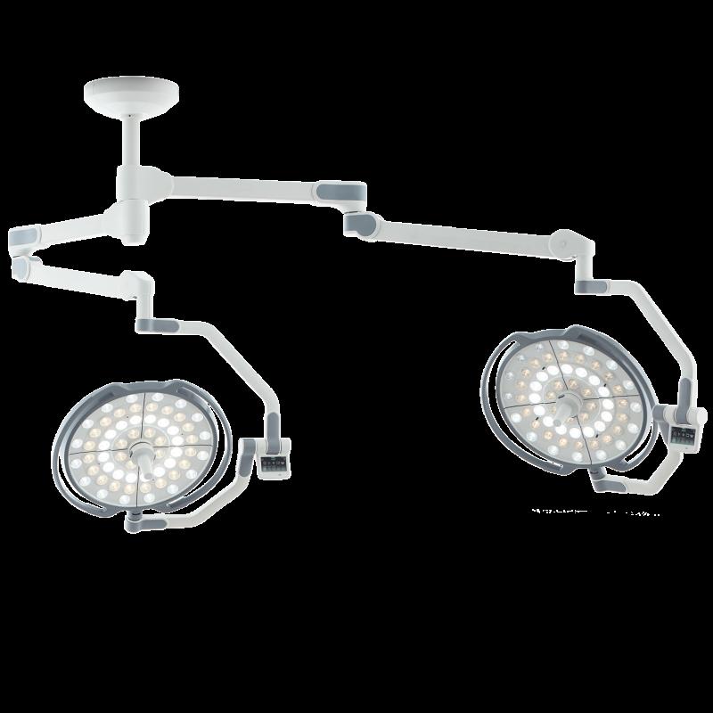 Двухкупольная хирургическая лампа, LD10-02