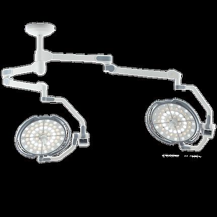 Двухкупольная хирургическая лампа, LD10-02, фото 2