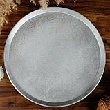 Форма для выпечки плоская, 270х18 мм, литой алюминий, фото 2