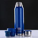"Термос ""Арктика"", 900 мл, вакуумный, синий, фото 3"