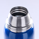 "Термос ""Арктика"", 900 мл, вакуумный, синий, фото 4"