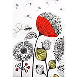Скатерть прямоугольная Grace, размер 110×150 см, принт одуванчики, фото 4