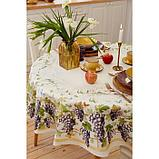 """Скатерть """"Этель"""" Provence d=150 +/-3 см, 100% хл, саржа 190 гр/м2, фото 6"""
