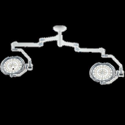 Двухкупольная хирургическая лампа без монитора (с камерой), LD20-52, фото 2