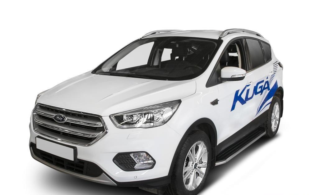 """Пороги """"Premium"""" Ford Kuga (2011-2016)"""