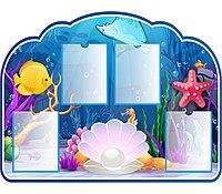Информационный стенд для детского сада ЖЕМЧУЖИНА