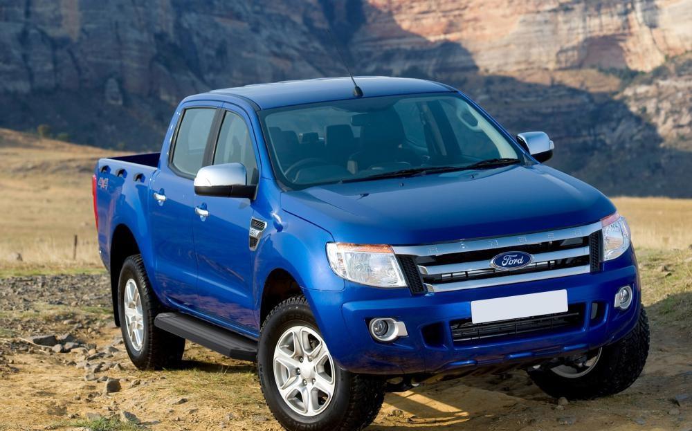 "Пороги ""Premium-Black"" Ford Ranger (2012-2015)"