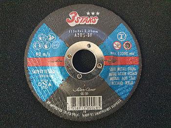 Круг отрезной Metal 115 х 3 х 22,23 3STARS AS30S-BF (Weiler Abrasives, Slovenija)