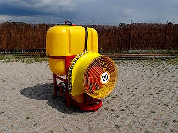 Опрыскиватель садовый вентиляторный 600л Польша Demarol (навесной)