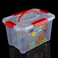 Короб для хранения econova 'Детское творчество', 5,5 л