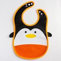 Нагрудник с карманом 'Пингвин', из клеёнки, на кнопках