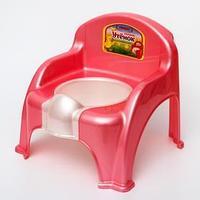 Горшок-стульчик 'Утёнок', цвет розовый