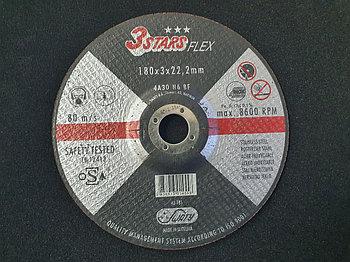 Круг отрезной Inox&Metal 180 x 3 x 22,23 3STARS 4A30N6BF (Weiler Abrasives, Slovenija)