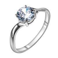 Серебряное кольцо с фианитом Красная пресня 23810328Д
