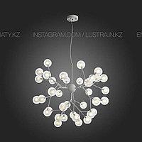 Люстра в стиле Modern на 36 ламп, цвет белый, цоколь G4