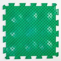 Детский массажный коврик 1 модуль 'Мягкие Ёжики', цвет МИКС