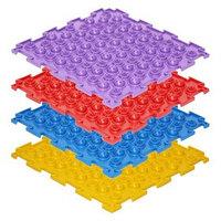 Массажный коврик 1 модуль 'Орто. Акупунктурный', жёсткий, цвета МИКС