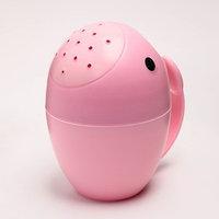 Ковш для купания 'Кит', цвет розовый