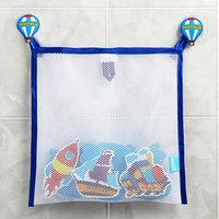 Наклейки в ванную из EVA 'Транспорт' сетка для хранения игрушек на присосках