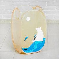 Корзина для игрушек 'Белый медведь'